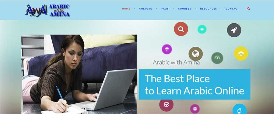 Arabic with Amina - How to Learn Arabic Fast